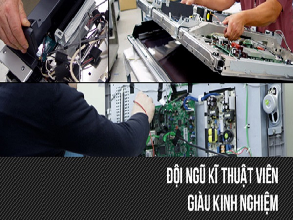 Sửa tivi Sony tại Hồng Quang làm việc chu đáo và tận tình