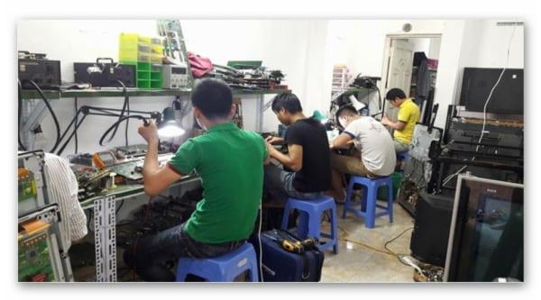 Thay màn hình tivi LG uy tín tại Thanh Trì – Hà Nội