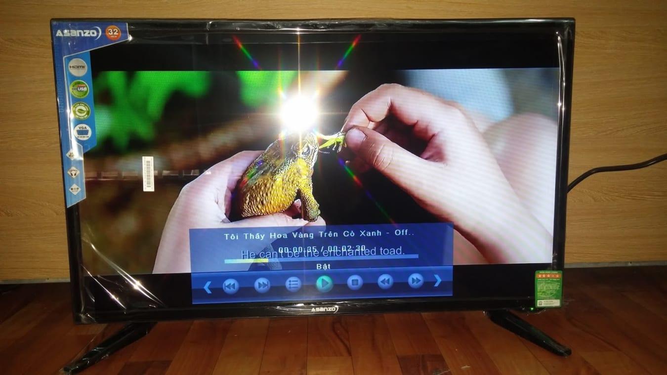 Thay màn hình tivi Asanzo uy tín tại nhà Hà Nội