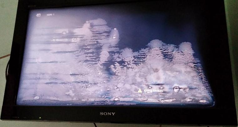 Cách sửa Tivi bị nhòe màu, nhiễu màu, mờ màn hình